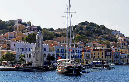 How to come to Symi