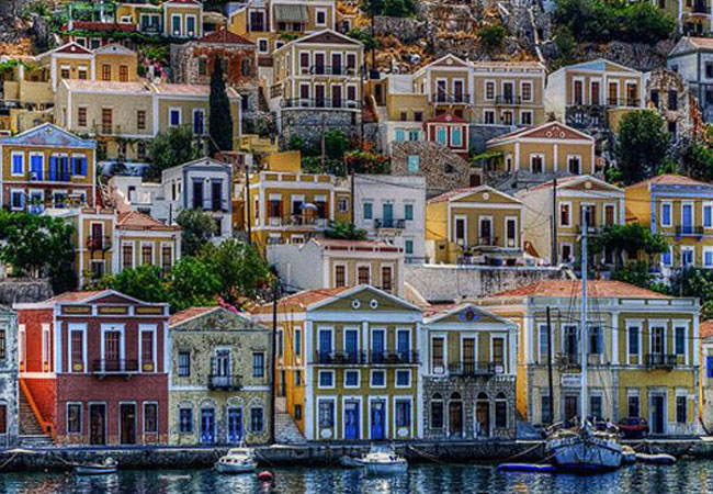 Symi, unique architecture